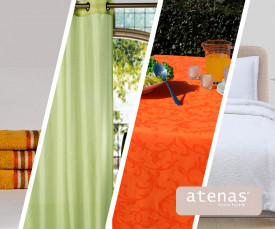 Imagem da campanha Atenas Home Textile