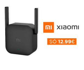 72H Xiaomi repetidor Wi-Fi só a 12.99eur