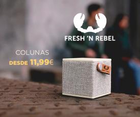 Imagem da campanha Colunas Bluetooth Fresh'N Rebel!!