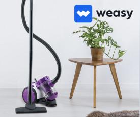 Imagem da campanha Electrodomésticos WEASY