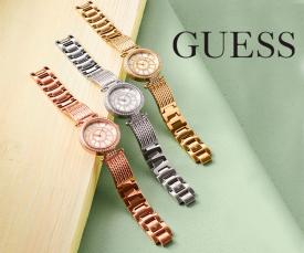 Imagem da campanha Guess Relógios