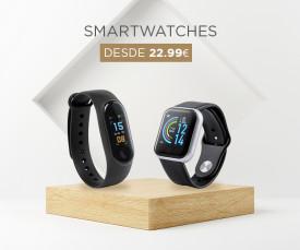 Imagem da campanha Smartwatches desde 22.99eur
