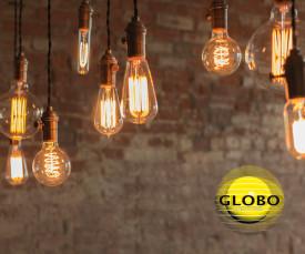 Imagem da campanha Globo Lighting - Lâmpadas