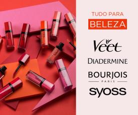 Imagem da campanha Tudo para BELEZA Entrega em 72H