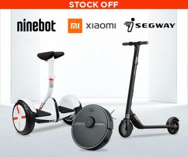 Xiaomi, Segway, Nineboat Stock Off!