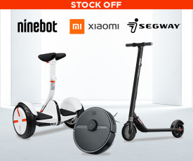 Xiaomi, Segway, Nineboat Stock Off!