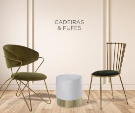 Cadeiras & Pufes