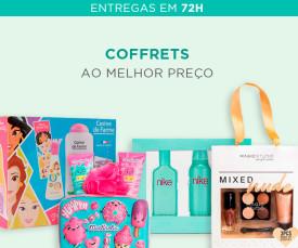 Imagem da campanha Especial Coffrets Melhor Preço 72H