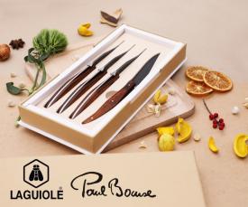 Imagem da campanha Laguiole & Paul Bocuse