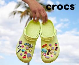 Imagem da campanha Crocs