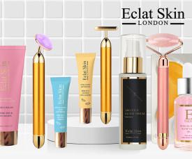 Imagem da campanha Eclat Skin London