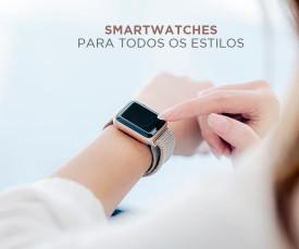 Imagem da campanha Smartwatches para todos os estilos!
