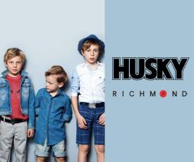 Imagem da campanha Richmond JR & Husky Kids