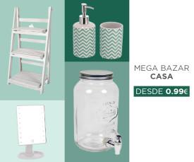 Mega Bazar Casa desde 0,99Eur