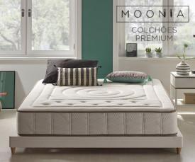 Imagem da campanha Moonia Colchões Premium