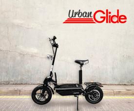 Imagem da campanha Urbanglide Escooters! Redescubra a sua Cidade