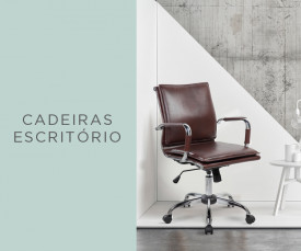 Imagem da campanha Qualidade e Conforto enquanto trabalha!