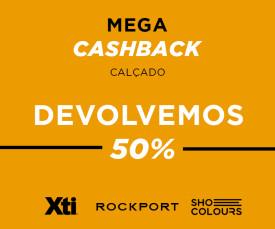 Mega Cashback Calçado 72h