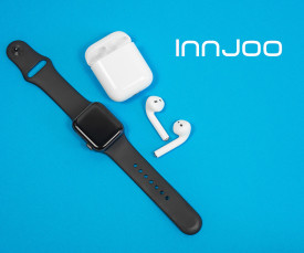 Imagem da campanha Dia do Pai Innjoo!! Smartwatch e EarPods desde 29.99eur