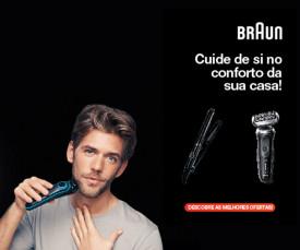 Imagem da campanha BRAUN- Cuidado Pessoal