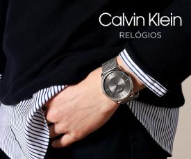 Imagem da campanha Calvin Klein
