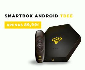 Imagem da campanha 72H!Torne a sua TV numa SmartTV com Smartbox Android Tbee só a 89.99 Eur!!