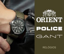 Gant, Orient & Police Relógios