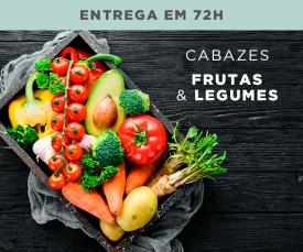 Imagem da campanha 72H Cabazes Frutas e Legumes - Os frescos chegaram ao Clubefashion! 6,99€