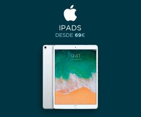 Imagem da campanha Apple Ipad desde 69eur