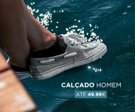 Imagem da campanha Calçado Homem Até 49.99€