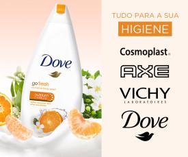 Imagem da campanha Tudo para a Sua Higiene