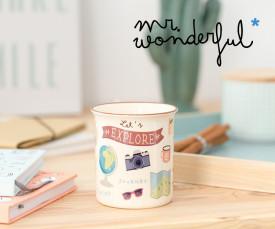 Imagem da campanha Mr. Wonderful! Organize o seu Escritório