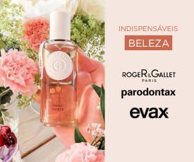 Imagem da campanha Indispensáveis de Beleza