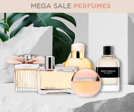 Imagem da campanha MEGA SALE PERFUMES desde 3,99€