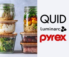 Conservação - Pyrex, Luminarc, Quid