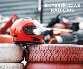 Imagem da campanha Aventura no limite! Experiências radicais !