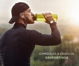 Imagem da campanha Camisolas e Casacos Desportivos