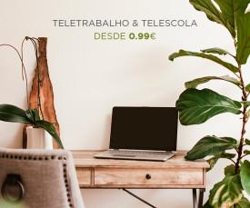 Imagem da campanha Especial Teletrabalho!! Desde 0.99