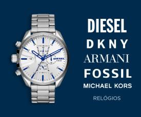 Imagem da campanha DKNY, Diesel, Fossil, Armani e muito mais...