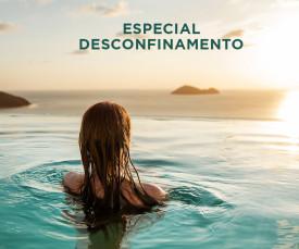Imagem da campanha Especial Desconfinamento!!