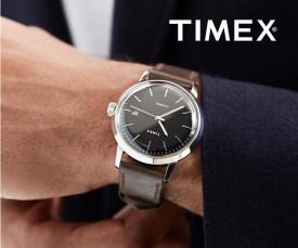Imagem da campanha Timex