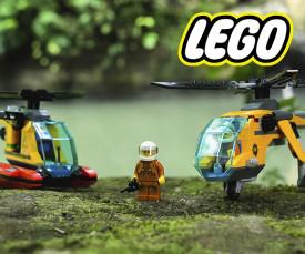 LEGO! Brincadeiras em família
