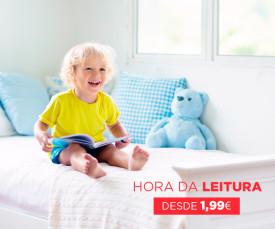 Dia da Criança! Hora da Leitura desde 1,99eur