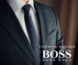 Tommy Hilfiger e Hugo Boss