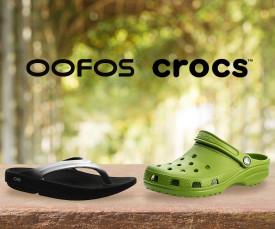 Crocs e Oofos