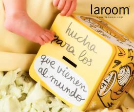 Imagem da campanha Laroom