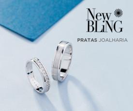 Imagem da campanha Pratas e New Bling