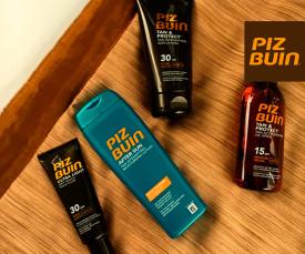Imagem da campanha PIZ BUIN- Proteção Solar