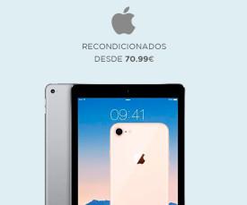 Imagem da campanha Apple! Recondicionados desde 70,99eur