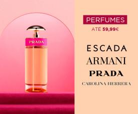 Imagem da campanha Perfumes até 59,99€